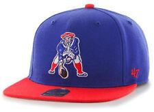 NEW ENGLAND PATRIOTS VINTAGE MINUTEMEN STRAPBACK '47 BRAND FLAT BILL CAP HAT NEW