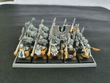 Warhammer Fantasy Dwarf Warriors x20 with Great Axes Core Unit rare OOP 6th Ed