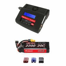 Venom 20C 3S 2200mAh 11.1V LiPo Battery and Pro 2 Charger Combo