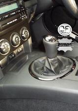 Para Mazda MX5 MK3 NC 2005-2013 Cubierta De Engranajes Polaina De Cuero Genuino