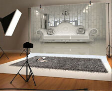 Photo Background 10X6.5Ft Silver Sofa Home Photography Backdrops Studio Props
