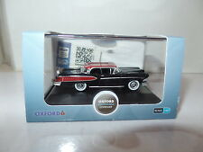 Oxford USA 87ED58001 ED58001 1/87 HO Scale Edsel Citation 1958 Black / Amber Red