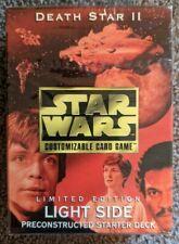 Star Wars CCG Death Star II Light Side Starter Deck (Factory Sealed)