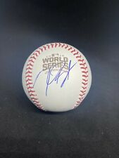 CHICAGO CUBS KRIS BRYANT SIGNED 2016 WORLD SERIES BASEBALL AUTOGRAPH JSA COA