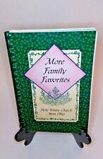More Family Favorites Holy Trinity Church Avon Ohio 2000 Cookbook