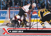BOBBY HOLIK DEVILS AUTOGRAPH AUTO 00-01 STADIUM CLUB #77 *17445