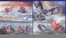 Briefmarken mit Vögel-Motiven aus Burundi