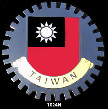 CAR GRILLE EMBLEM BADGES - CHINA(TAIWAN)