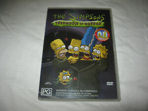 The Simpsons Treehouse of Horror - VGC - DVD - R4