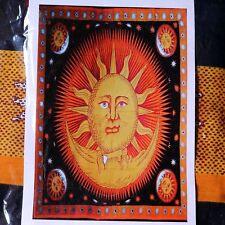Dekortuch * Wandbehang * Tagesdecke * Baumwolle * Sonne Mond