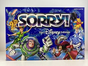 Sorry! The DISNEY Edition Board Game COMPLETE Parker Brothers 2001 EUC