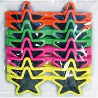 36 Pcs Star Style Glasses Kids Loot Party Bags Filler Favour Toys Stocking Fun