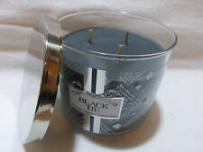 1 Black Tie Scented Candle Bath & Body Works 14.5 Oz