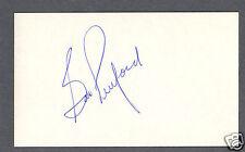 Bob Pulford signed hockey index card Hockey Hofer