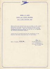 HANDLEY PAGE HERMES IV -PILOTS & FLIGHT ENGINEERS NOTES