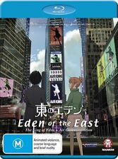 Eden Of The East - Movie 1 : The King Of Eden / Air Communication (Blu-ray,2011)