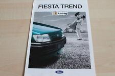 120158) Ford Fiesta - Trend - Prospekt 10/1994