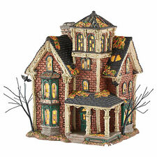 Dept 56 Halloween Snow Village Ghastly's Haunted Villa 4051007 Lighted Building