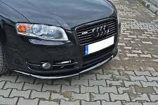 Audi A4 8E B7 Front Bumper Lower Lip spoiler Cup Chin Valance Splitter S-Line S4