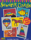 LOT OF 2 SEWING CARDS - SET OF 6 - NEW - MADE IN USA   ZWWD10106
