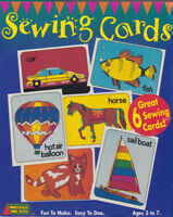 LOT OF 2 SEWING CARDS NEW SET OF 6 MADE IN USA     #ZWWD10106