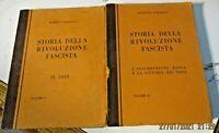 STORIA DELLA RIVOLUZIONE FASCISTA di R. FARINACCI vol. 1/ 2 - CREMONA NUOVA 1937
