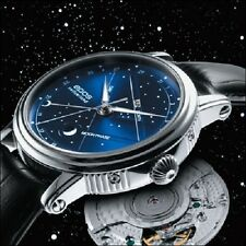 EPOS Emotion automatic self-winding moon Starry Sky day date month 3391 see-thru