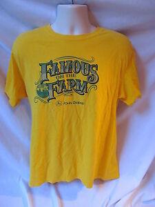 John Deere Famous on the Farm Large T Shirt