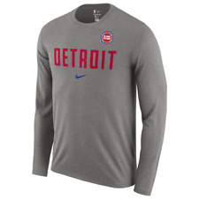 Men/'s Detroit Pistons Nike City Edition Motor City Alt Hem Dri-Fit Shirt NWT XL