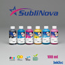 Dye Sublimation Ink for any Epson Printer InkTec SubliNova Smart 6 Colours 100ml