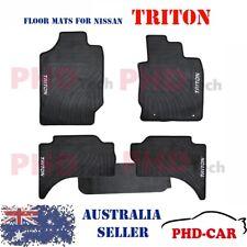 Mitsubishi Triton MQ GLS GLX Dual Cab All Weather Rubber Car Floor Mats