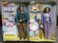 "Grandpa & Grandma Happy Family Barbie Doll Neighborhood NBT No Outer Box """