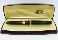 Montblanc #22 Black Fountain Pen with box Good Condition