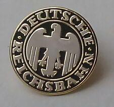 Pin/ Anstecker DRG Deutsche Reichsbahn schwarz/ gold 2cm (P03)
