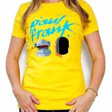 PAUL FRANK Julius Funky Robots Yellow T-Shirt - M (10-12) V Rare
