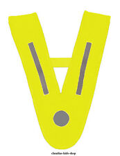 Kinder Warnweste/Kragen DIN EN 471 gelb,Sicherheitswarnweste,Pannenweste/Kragen