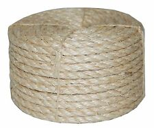 T.W . Evans Cordage 23-410 3/8-Inch by 100-Feet Twisted Sisal Rope, New