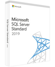 Microsoft SQL Server 2019 Standard Edition - Full 24 Core License,Unlimited CALs