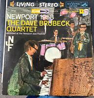 Dave Brubeck Quartet...Newport 1958...Orig Columbia 6 Eye Stereo CS8082 LP 1958