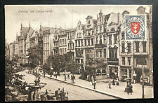 1924Danzig Langfuhr Picture Postcard Cover To Goteborg Sweden the langemark