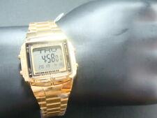 Casio Gold tone Databank watch for men DB-36DG-9ADF