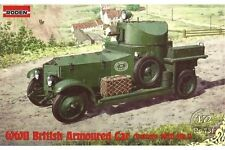 RODEN 731 1/72 WWII British Armoured Car (Pattern 1920 Mk.I)