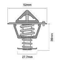 TRIDON Std Thermostat For Honda Integra DC2 - VTi-R 07/93-12/99 1.8L B18C2