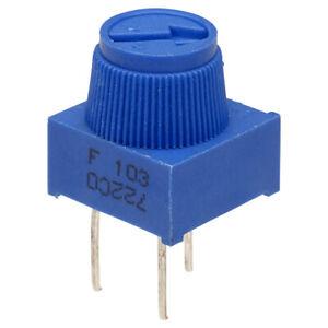 3386F 1-turn Finger Adjust Preset Pot Potentiometer Variable Resistor UK Seller