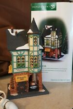 Dept 56 Christmas In The City Lighted 1999 Wintergarten Cafe 58948 Retired 1999