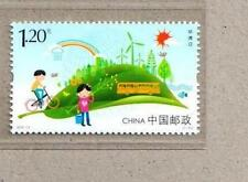 China 2015-11 Stamp Environment Day Stamp 環境日 Bicycle Bus