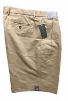 Daniel Cremieux Men's Signature Pleated Beige Khaki Shorts Size 40 NWT Chinos