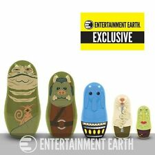 CLOSEOUT~collectors~STAR WARS NESTING DOLLS - Toys Star Wars 5 Jabba's