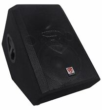"Rockville RSM12A 12"" 1000 Watt 2-Way Powered Active Stage Floor Monitor Speaker"