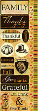 Reminisce HARVEST COMBO Cardstock Stickers scrapbooking THANKSGIVING